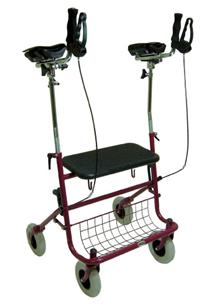 Gutter Arm Rollator W Seat Amp Basket Peninsula Health Care